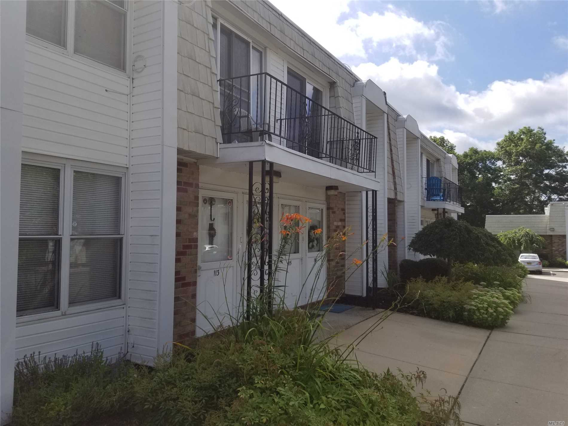 2 Bedroom Upper Unit With New Sliding Glass Doors Leading To The Balcony. Wall To Wall Carpet. Living Room Dining Room Combo. New Heat & Cac Unit,