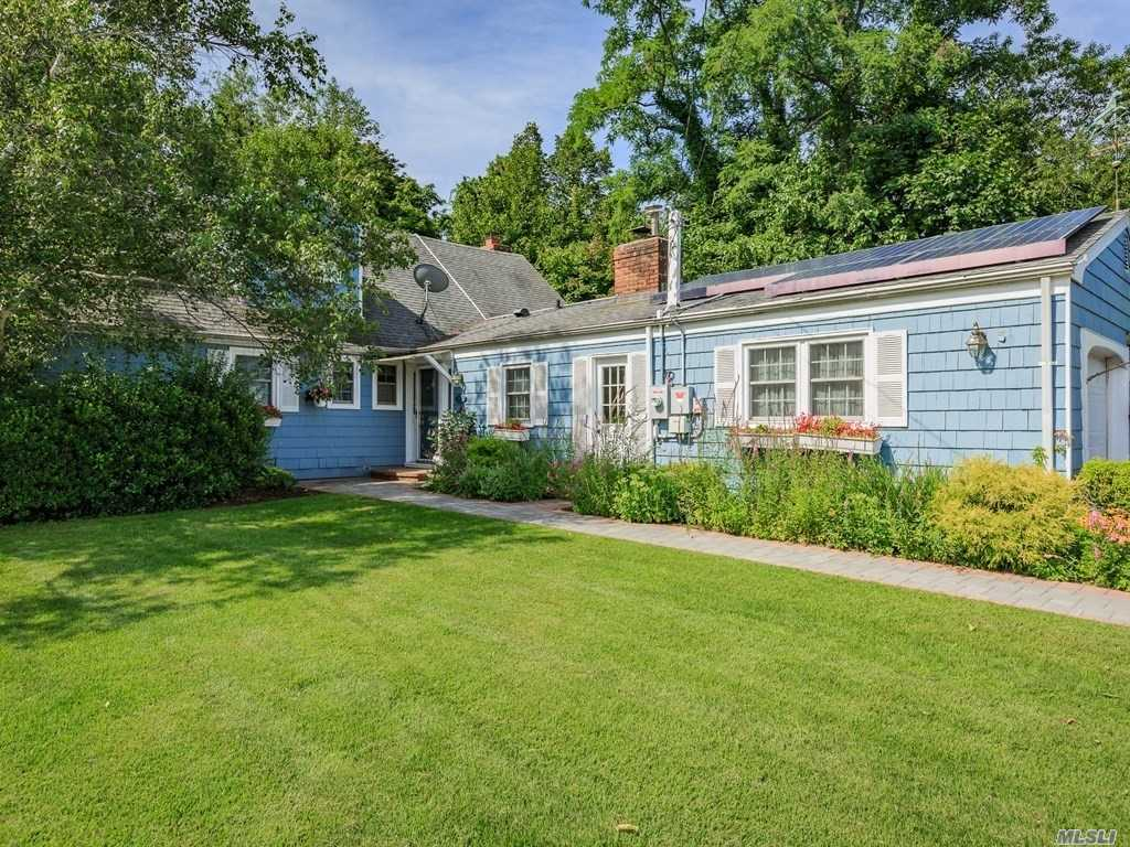 Lovely And Expansive Farm Ranch W/ Deeded Boat Slip In Blue Harbour Association. This Home Is Located In A Very Secluded And Private Location. Featuring A Security System, Solar Panels, 250 Amp Service, Igs F/B- 6 Zones, Updated Eik And Windows, And Much More! Flood Zone X, No Sandy Damage!