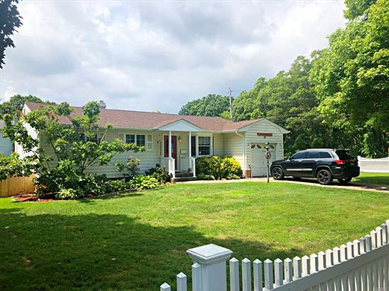 Great Opportunity For This 3Br Wideline Ranch In Award Winning Islip School District! Nice Room Sizes & Plenty Of Storage .Hardwood Floors Throughout.Updated Windows, Siding & Roof. Full Basement, Cac & Garage. Big Fenced Property Close To All. Star=$1, 197.00.