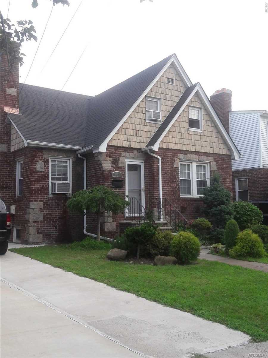 Well Maintained Two Family Brick Home In The Quiet Residential Area Of Whitestone. Each Floor Features Hardwood Floors. Also Features A Full Finished Basement With Separate Entrance. Has Garage And Private Driveway. Excellent Appearance. Sunny And Bright. New Roof. Under Contract.