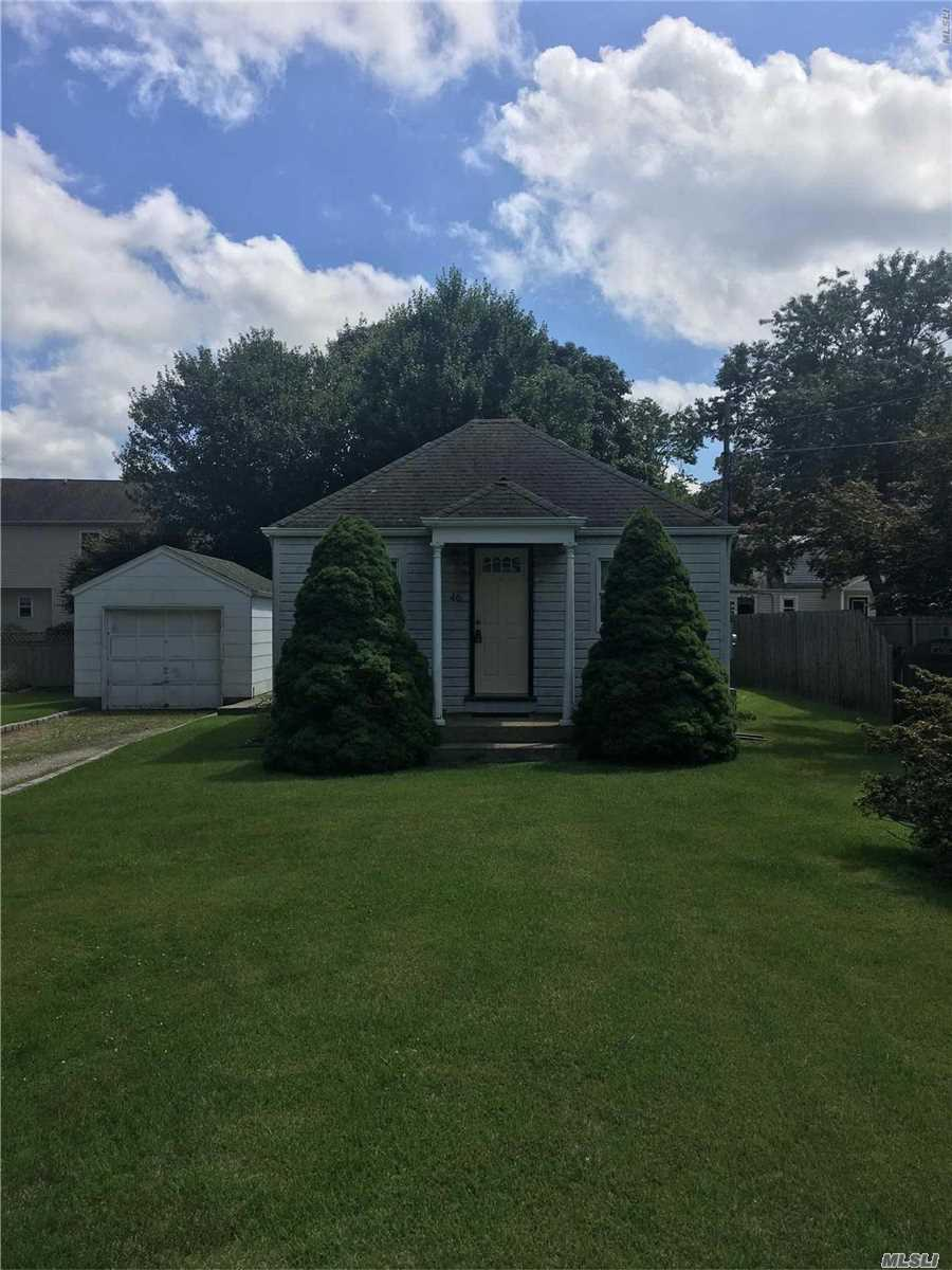 Not A Short Sale. This House Needs A Little Tlc But Make It Your Own! Priced To Sell.