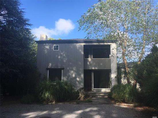 Beautiful Contemporary Home On Three Mile Harbor. Five Bedrooms And Four And A Half Baths. Two Fireplaces, Updated Kitchen With Viking And Bosch Appliances. Expansive Views Of The Harbor. Wonderful Weekend Retreat.
