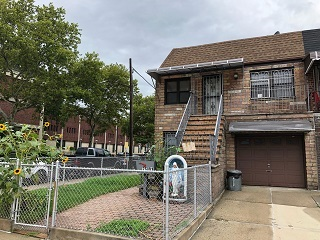 Stone 2 Family House In East Elmhurst For Sale. Oversized 2 Bedroom Apartment Over A Spacious One Bedroom Apartment. Full Finished Basement With Separate Entrance. Hardwood Flooring Throughout. All On A Corner 24X100 Sq Ft Lot! A Must See!