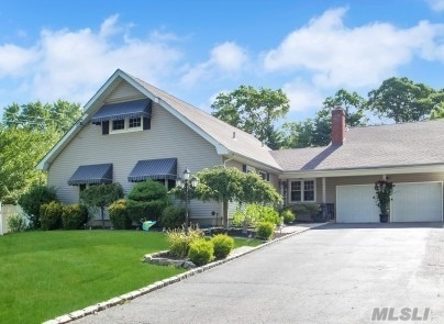Desirable Home In Hauppauge Schools With Legal Apt For Family/Friends To Live With You. Home Features 5, 200Sqft Of Living W/Basement Plus Regular 2-Car Garage. Home Has 5 Bedrooms, 4.5 Baths, Full Basement, In-Ground Pool-2003, Large Flat 1/2Acre, Hardwood Floors, Cac, Updated Roof, 2 Kitchens, 2 Laundry Areas And More. Taxes With Star $12K. Looking For Large Home In Hauppauge For Extended Family Then You Must View This Home.