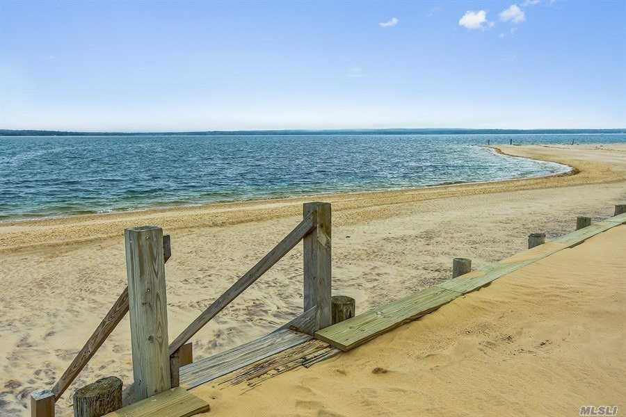 Fully Furnished One Bedroom Resort Property On Beautiful Peconic Bay. 365 Feet Of Bulkheaded Beach With Sugar White Sand. Can Be Rented On A Daily, Weekly Or One Month Basis. This Is A Great Vacation Spot. Resort Style Living On The North Fork.