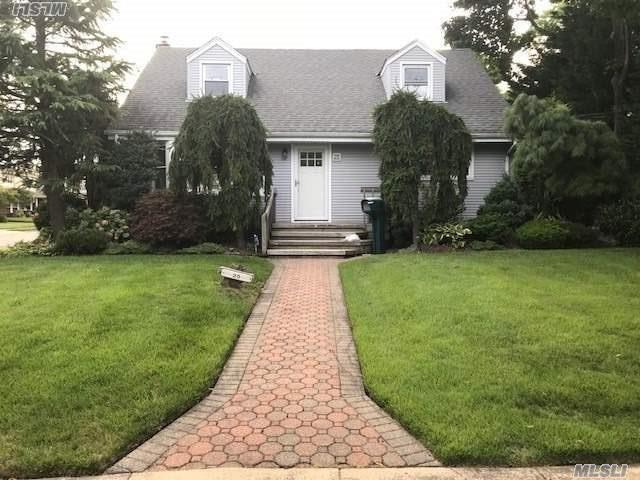 Beautiful Renovated Exp.Cape In The Desirable Nassau Shores Section. 1st Fl. Master Suite W/Washer-Dryer And 3 Additional Spacious Bed Rooms. Gleaming Hardwood Floors.Lots Of Closets And Storage.Use Of Half Car Garage, 1/2 Finished Basement. All New Through Out!