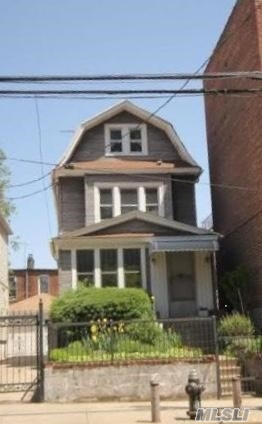 Nice Home Offers 1 Car Garage, Private Driveway, 3 Bedrooms And Attic, 2 Full Baths, Located A Short Walk To Public Transit (Bus & Train) Shops, Restaurants And Bakeries. The Property Is Zoned R7B. Great Potential.