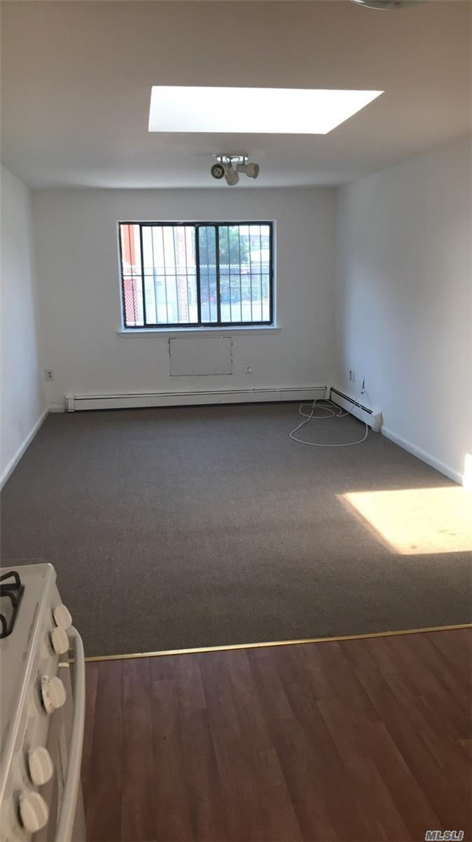 Beautiful 1 Bedroom Apartment In The Heart Of Maspeth. Walking Distance To Laundromat, Deli, Bank, Schools, Restaurants, Pharmacies, Dollar Stores, And Library. Close Proximity To Queens Midtown Expy As Well As The Q18 Bus Stop. Apartment Has A Private Balcony Over Looking The Backyard Area Which Can Be Used As Well. Apartment Has A Ton Of Natural Light With A Big Skylight In The Main Living Area.