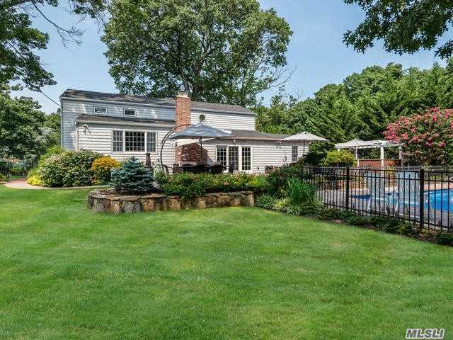 Part Of The Gold Coast Of Long Island, Originally The Grounds Of The Harrison Williams Estate, Oak Point Development Became Home To 34 Homes In The Seaside Town Of Bayville. This Traditional Colonial Tucked Away In A Quiet Cul-De-Sac Features 4 Bedrooms, Oversized Living Room With Bay Window, Formal Dining Room With Fireplace, Family Room, An Eat-In-Kitchen And 2.5 Baths. Park Like Grounds With An In-Ground Pool And Patio. Gated And Deeded Soundside Beach And Mooring Within A Stone's Throw