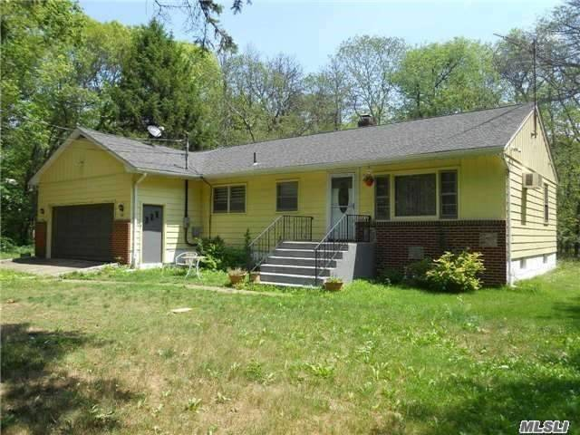 3 Bedrooms, 2 Bath Home With Finished Basement And 2 Car Garage On Private Street.