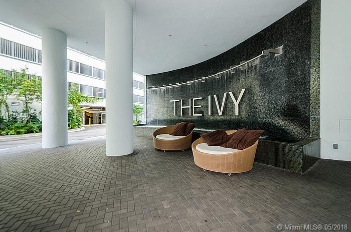 Unique Unit At The Ivy, Only 2 In The Building Like This With An Extended Wraparound Balcony Almost 500 Sf, Corner Unit With South, East And West Views, Overlooking The Bay, Miami River And The City. Floor To Ceiling Windows Throughout, Wood Floors And Ceramic Tiles In Bedrooms. Master Bedroom Has A Separate Balcony. Amenities:Full Spa, Massage Rooms, Attendant, Steam Room, Sauna. Game Room:2 Pool Tables, Ping Pong Table, And Air Hockey. Full Gym With Oversized Aerobics, Volleyball, Bbq Area, 2 Pools, Jacuzzi. Cable/Int Included
