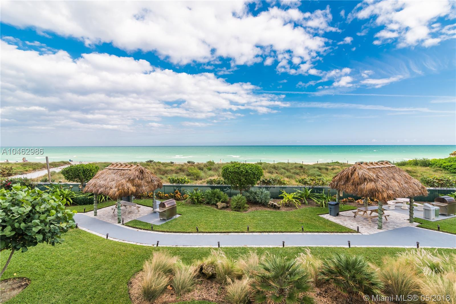 New Listing +Ógé¼Gç£ New Price - $100K Reduction +Ógé¼Gç£ Ready To Sell! Close To The Beach With Captivating Direct Ocean Views. This Luxurious Two Bedrooms Two Baths Recently Remodeled Condo Boasts Spacious Bedrooms And A Modern Kitchen With Granite Countertops. Hardwood Floors Throughout The Living Areas With Built Out Closets In The Master Bedroom. Enjoy The Tiki Huts On Premise While Enjoying All The Amenities Miami Beach Has To Offer.