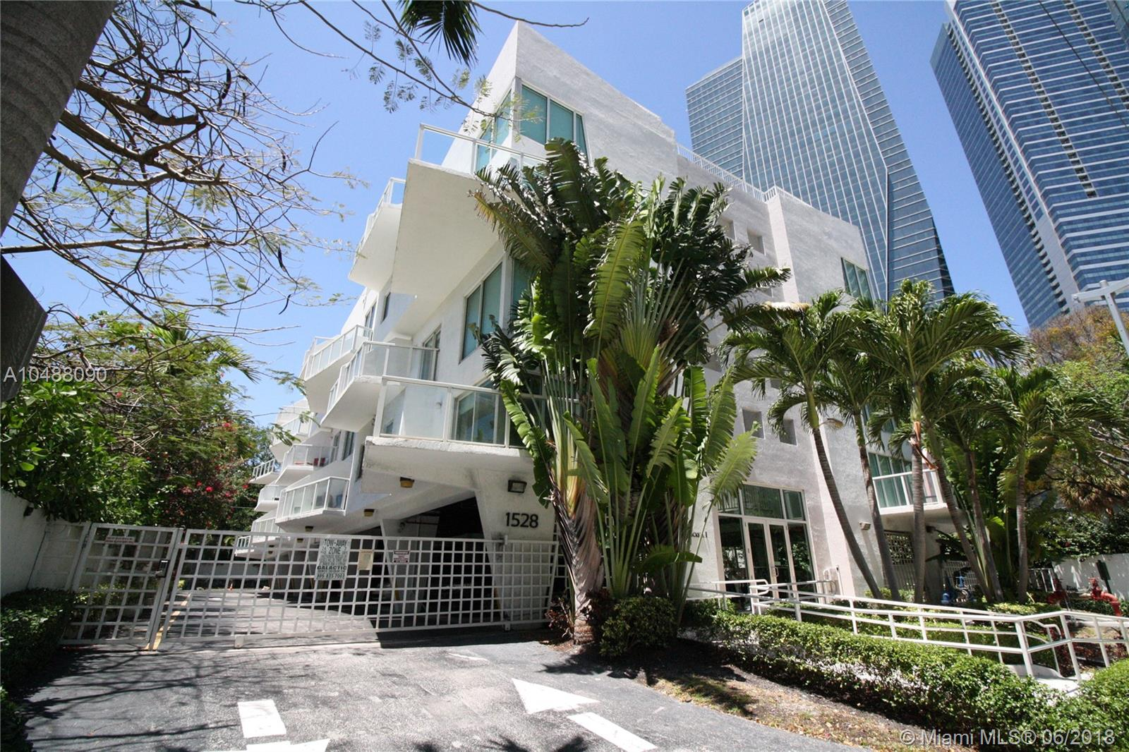Two Story Loft In A Boutique Condo Located In The Brickell Area. Unit Offers Lots Of Natural Lights, Double High Ceilings And Stainless Steel Appliances. Washer And Dryer Inside The Unit. Secured Gated Condo With Covered Parking Space Assigned. Walking Distance To Brickell+Ógé¼Gäós Financial District, Restaurants, Shops, Pharmacies, Supermarkets, Etc. Easy Access To Downtown, Key Biscayne, Coconut Grove, Coral Gables, & Miami International Airport.