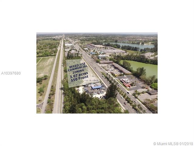 The Sale Includes Two Folio Numbers: 30-69-33-000-0660 With 109, 651 Sf And 30-69-33-000-0650 With 24, 394 Sf 3.07 Acres. 550 Frontage To S Dixie Hwy (Us Highway 1). Build Up To 110 Units. - 42 Unit Per Acre Density Up To 6 Story. Excellent For Affordable Housing In Growing Homestead.<Br />Sw Corner Of S Dixie And Naranja Lakes Blvd.