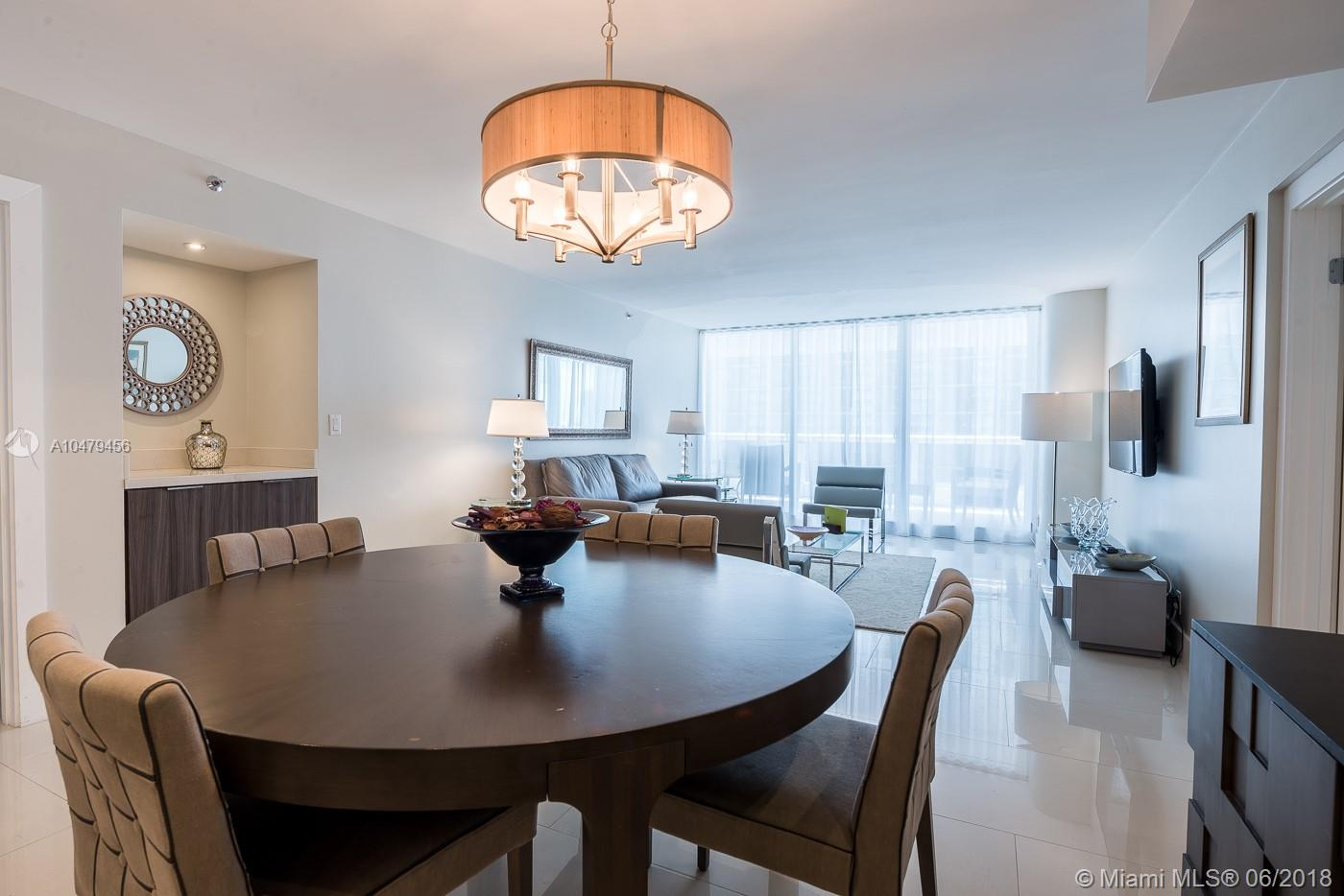Furnished 3Br/2Ba Bayfront Condo In The Grand. Located In The Heart Of Miami+Ógé¼Gäós Exclusive Arts + Entertainment District, Just One Mile From The Port Of Miami, And Within Walking Distance The Adrienne Arsht Center For The Performing Arts, American Airlines Arena And Bayfront Park. Discover The Fun, Food And Shops At Bayside Marketplace Or Enjoy The Proximity To Brickell, Midtown, Design District And Wynwood Arts District. Margaret Pace Park Is Right Next To The Building With Lighted Basketball, Tennis And A Volleyball Courts. Visit Sea Isle Marina & Yachting Center In Our Backyard And Enjoy A Scenic Charter To South Beach