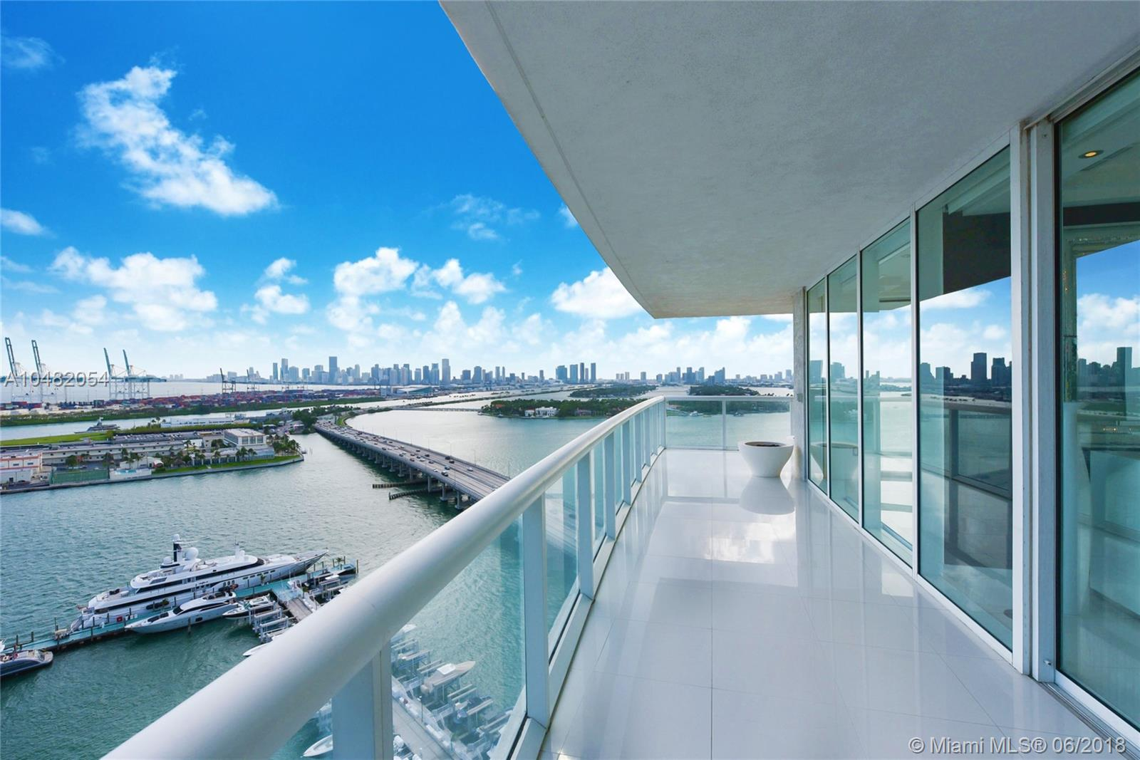 Live A Life In Paradise Every Day In The Premier 01 Residence Of Icon South Beach. Enjoy Impressive Sunrise & Sunsets Over The Stunning Miami Skyline From Your Oversized Wrap Around Terrace. Beautiful Custom Finishes Throughout Include Thassos Marble Flooring, Custom Designed Baths With Mother Of Pearl And Honed Black Marble, White Leather Doors And Panels, Sonos Sound System, Custom Window Treatments And Nest System Integrated With Your Ipad.The Floor Plan Was Perfectly Designed Into A Massive Two Bedroom Residence And Easily Converted Back To A Three Bedroom If Desired. Enjoy All The Top Restaurants & The Convenient Yacht Marina South Of Fifth Right At Your Doorstep. Icon Is A Philippe Starck Designed, Full-Service Building Incl. 24 Doorman/Valet, Private Restaurant & Fitness Center.