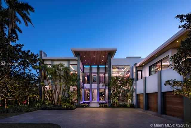 Stunning Contemporary Home W/ 120' Of Wf On Guarded Sunset Island Ii. Combining Opulent European-Style Luxury, Elegant Design & Advanced Engineering To Create An Exceptional Residence. No Expense Was Spared In The Homes Interior Utilizing Luxurious Finishes To Complement Its Grandeur. Spanning Over 12, 000 S/F Of Living, A Master Bd Wing W/ His & Hers Baths & Closets, Elevator, Chef'S Kitchen, Game Room, & More. A Smart Home W/ State Of The Art Amenities, Encased By Sheer Glass Walls, Creating A Seamless Blend Of Indoor & Outdoor Living, Rooftop Terrace, Gazebo W/ Kitchen, Gardens, Balconies, Water Features, & More. This Home Is Available Fully Furnished For $27, 500, 000.00 Another Masterpiece Produced By The Collaborative Efforts Of Brett Palos, Bart Reines Construction & Argent Design.