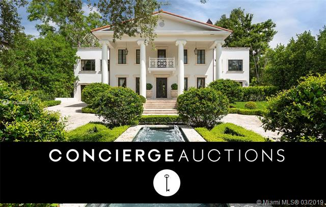 Built For John T. Peacock, One Of The Founders Of Coconut Grove, On Over One Acre, This 7, 000 Sf, Two-Story Villa Is The Perfect Blend Of History And Luxury. Upon Entering The Gated Estate A 100-Yard Long Driveway Entrance Highlighted By European Landscaping Leads You To The Impressive Main Entrance. This Grand Home Includes 4 Bedrooms, 5.5 Baths, And 2 Independent Guest Suites. The Master Bath Features Double Rain Ceiling-Mounted Recessed Showers, Steam Bath W Integrated Aromatherapy Capability & Waterworks Faucets. Cherry Hardwood Floors & Mahogany Doors Are The Perfect Accents To The Spacious Living Areas. Enjoy Two Covered Terraces W A Full Bar, Poker And Billiard Tables, An L Shaped Pool, Lit Tennis Courts & A Private Fitness Room.