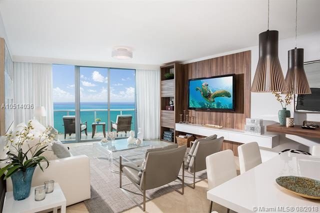 Indulge Yourself With This Breathtaking Ocean View/Ocean Front Professionally Decorated Fully Furnished Luxury Residence. 3 Bed/ 3.5 Bath - Private Entrance. Flow Through Unit With Panoramic Ocean And Inter Coastal / Skyline Views. The Rate Reflected Is Based On An Annual Lease, Call Listing Agent For Shorter Period Rate.