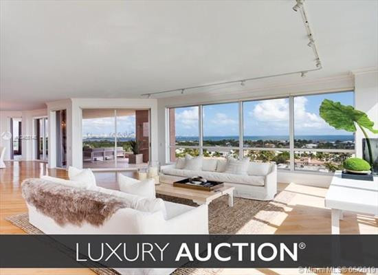 This Luxurious, Waterfront Condominium Will Now Be Sold At Luxury Auction On July 27, 2019 In Cooperation With Platinum Luxury Auctions! Selling Without Reserve! List Price Is For Reference Only. Inquire For Complete Auction Details.<Br />Fabulous Opportunity To Own At The Gables Club! Rarely Available The A Line. Enjoy Spectacular Panoramic Bay Views And 5 Star Lifestyle, This Residence Offers Over 4, 000 Sf Living Area Plus An Additional 1, 000 Sf Of Terraces.<Br />3 Bedrooms, Family Room, Dining Room. Beautiful Bookshelves And Huge Entertaining Spaces Indoor And Outdoor.<Br />5 Parking Spaces Included With This Residence.