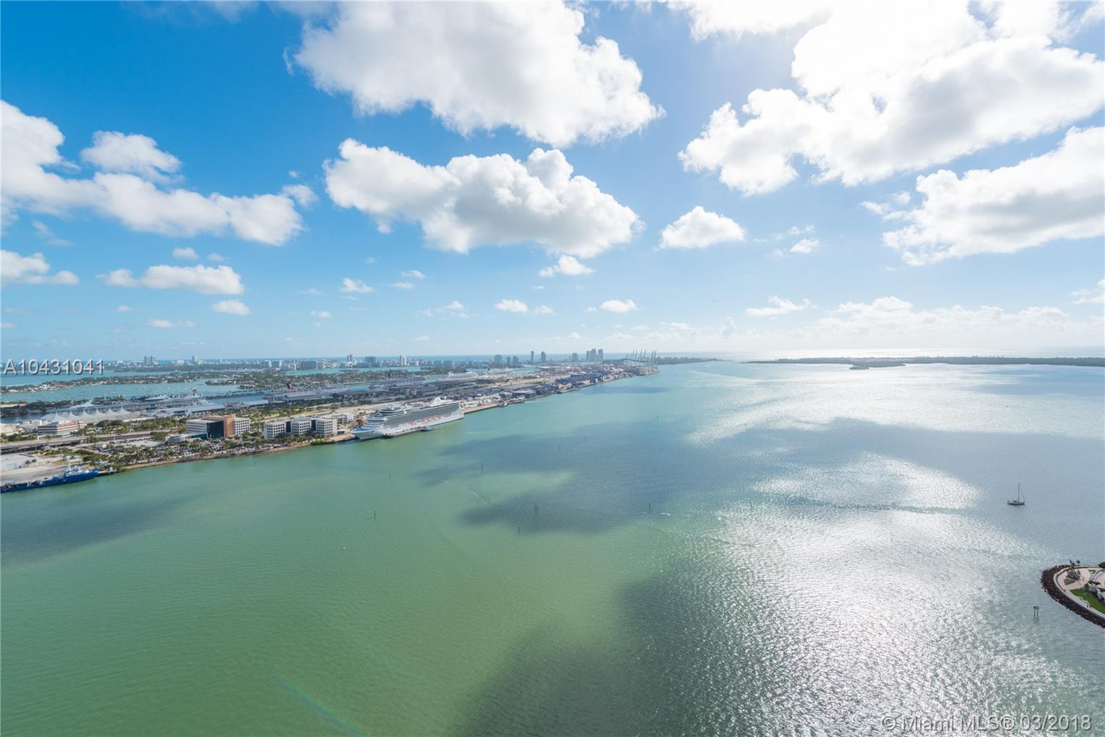 Enjoy Breathtaking Panoramic Views Of Biscayne Bay, Port Of Miami And The Miami Beach Skyline From Every Window. This Tastefully Remodeled Penthouse Features 3 Bedrooms, 2 Bathrooms, Wood Porcelain Floors, 14 Ft High Ceilings And An Italian Style Kitchen. The Building Offers Resort-Style Amenities Which Include 24-Hour Security, Excellent Concierge And Valet Services, A Recently Renovated Pool And State Of The Art Gym. Minutes Away From The Finest Restaurants And Downtown Hotspots Including A New Whole Foods Market. Wake Up Each Morning To A Magical Sunrise, Or Relax On Your Spacious Terrace Under The Evening Sky. Live The Miami Lifestyle In Permanent Vacation-Mode.