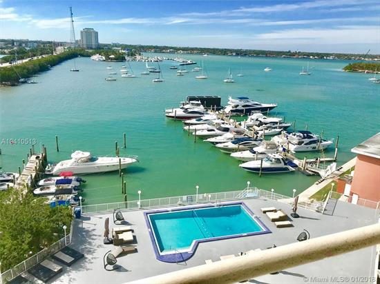 Wake Up Every Morning To The Most Stunning Miami Sunrises And Enjoy Picturesque Sunsets Every Night From This Cozy Bay Front 1-Bedroom/1-Bath Apartment Overlooking The Pool, Tennis Court And Marina (Direct Access). Low Maintenance Fee, Covenience Store, Pet Grooming & Boat Rental Facilities Make This Place Ideal For Both The Owners And The Renters. The Building Is Located Next To The Restaurants, Shops, Beaches And Within 15-Minutes Drive To Miami International Airport, Bal Harbor Shops, Downtown Miami, South Beach, Etc.<Br />No Rental Restrictions!!! Best Priced Unit In The Building!<Br />It Won'T Last Long!<Br /><Br />The Building Is Currently Undergoing Full Renovation.