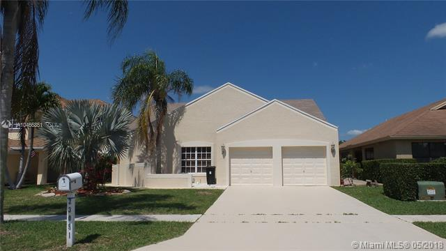Single Family Home Under $400K In Boca Raton!! Lovely 3 Bedroom, 2 Bath, 2 Car Garage. Recently Painted. Large Backyard Is Fenced In With Built In Grille. Trends Of Boca Is A Great Neighborhood With A Community Pool, Tennis Courts And Sidewalks. Hoa Is Only $73 A Month. Great Schools; Elementary School Within Walking Distance.