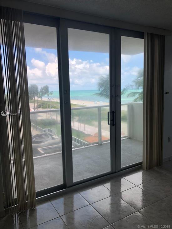 Opportunity Knocking To Live In Beautiful Millionaire Row. Corner Unit With North East Ocean Views Also Direct Ocean Views From 2Nd Bedroom. Convertible Unit With 2 Full Bath, Impact Windows. Owner Paid The Full New Special Assessment That Commenced June 1, 2018 For 66 Month. Make An Apt Easy To Show.