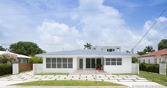 Completely Rebuilt In 2018 With A Classic +Ógé¼Gç£ Style Exterior, Modernized Interior And A Tropical Garden.<Br />This Warm And Welcoming Design Home Is Situated On A Double Lot (9, 677 Sf) On The Prestigious And Quiet Neighbor Of Surfside.<Br />Half Block From Bal Harbour Shops, Three Block From The Beach And Walking Distance To Restaurants.<Br />This Luxury Home Features An Open Floor Plan With A Living Room, Formal Dining, A Family Room And A Chef+Ógé¼Gäós Kitchen With Breakfast Bar. 5 Bedrooms And 4-1/2 Bathrooms; A Guest House/Pool Cabana; A Pool And A Tropical Garden That Wraps Around The Entire House Providing Beautiful Green Views !!!<Br />Perfect Location For Families. A+ Rated School Of Bal Harbour.