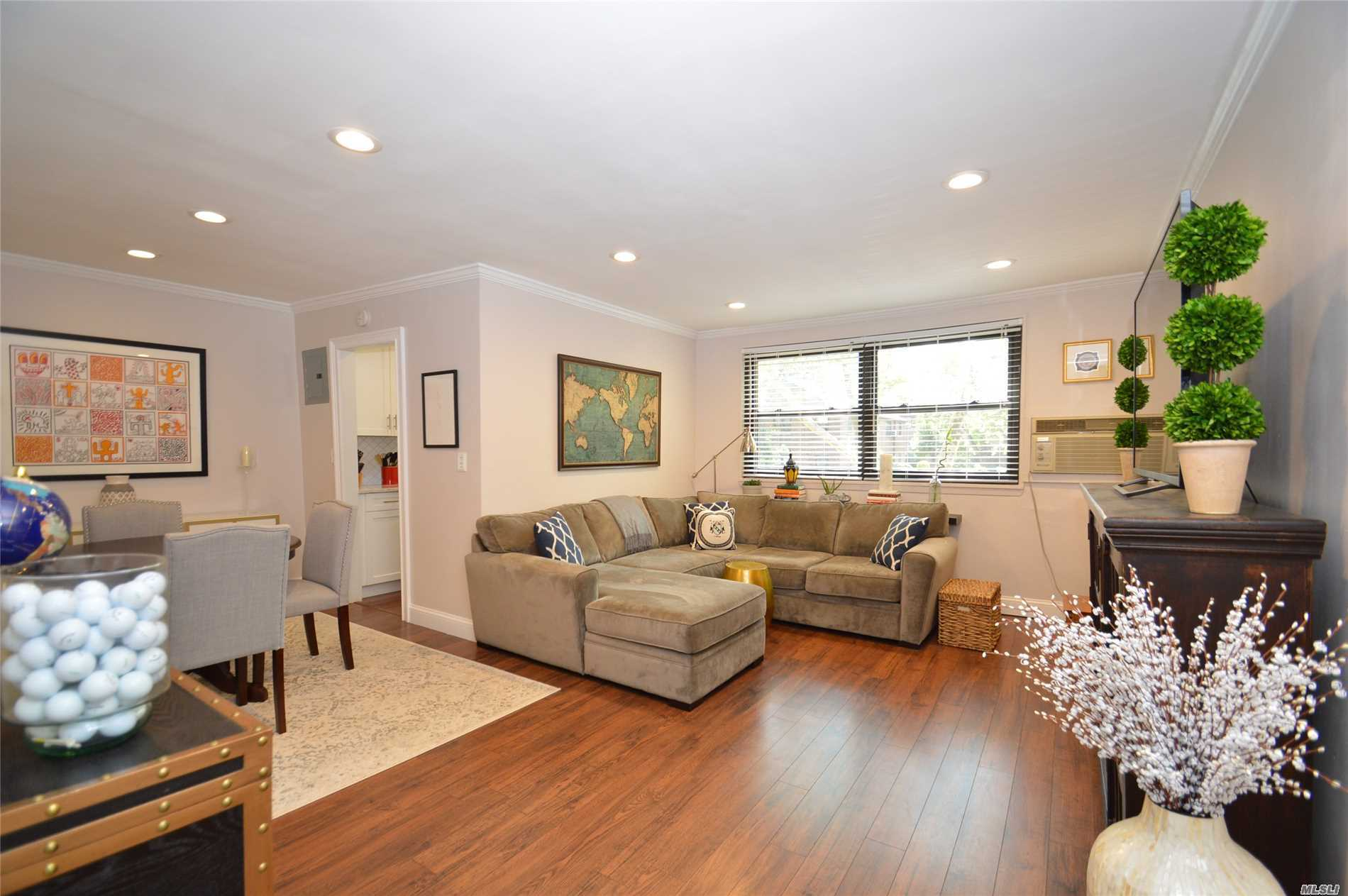 For Fussy Buyers! Totally Renovated And Thoroughly Modern 1 Bedroom Upper. Maintenance Includes Heat, Gas, Electric & Private Sanitation. Custom Closets, Crown Moldings. Just Bring Your Toothbrush.