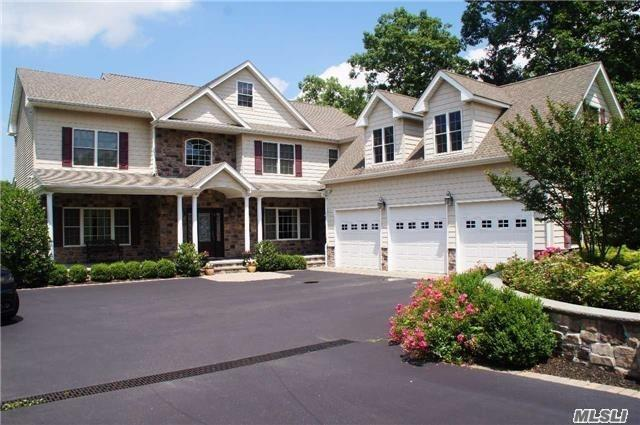 10 Year Young Custom Built Colonial In The Coveted Smithtown Pines Features Stunning 2 Story Entry, Fabulous Gourmet Kitchen With Stainless Steel Appliances, Granite. 5 Large Bedrooms All With Custom Oversized Closets, 1st Floor Guest Suite, Huge Fully Finished Basement With 9' Ceilings And Ose, 3 Car Oversized Garage, Salt Water Pool, Sport Court, Outdoor Kitchen, Pool Cabana W/ Bath, Flat 1.29 Usable Acres With Atv Trail - Room For Horses Or Tennis. This Home Simply Has It All!!!