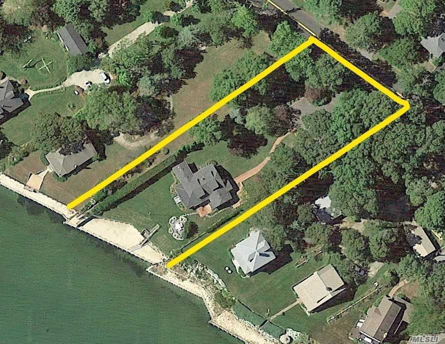 Updates Just Completed On This Bayfront Charmer. Enjoy Gorgeous, Southeasterly Views Of Great Peconic Bay From Virtually Every Room. Estate-Like Property On 0.75/Acre Including 115 Ft Of Private Beach And Bulkhead & Large Yard With Room For Pool. Home Boasts 3/Brs, 2.5 Baths, Huge Kitchen, Sunroom & Bonus Room/Attic Space. Separate Cottage/Workshop Ideal For Home Office