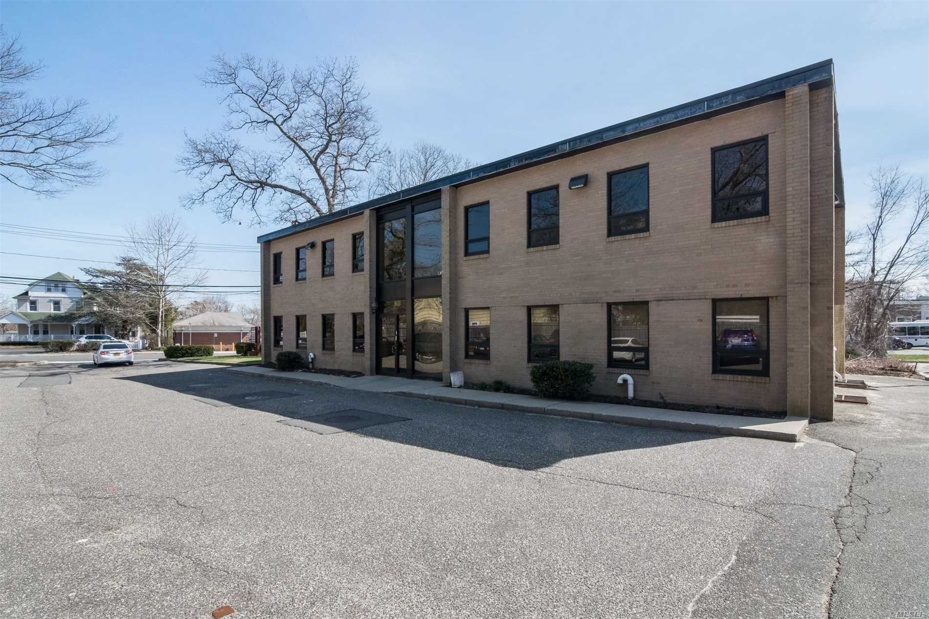 2 Story Approx. 4900 Sq Ft Brick Office Building. Currently 50% Occupied. 3 Suites. Main Floor - Approx. 1593 Sq Ft. Suite W/Bath & Approx. 850 Sq Ft Suite W/Bath.2nd Floor Approx. 2450 Sq Ft. Suite With 2 Conference Rooms, 4 Offices, File Room, Admin Room, Waiting Room.Mini Kitchen &2 Baths.Updated & In Mint Condition.Deeded Easement For Additional Parking- 33 Spaces & 1 Handicap Parking.Busy Commercial Corridor Off Of W. Main St. Roof & Parking Lot Is Only 10 Years Old.