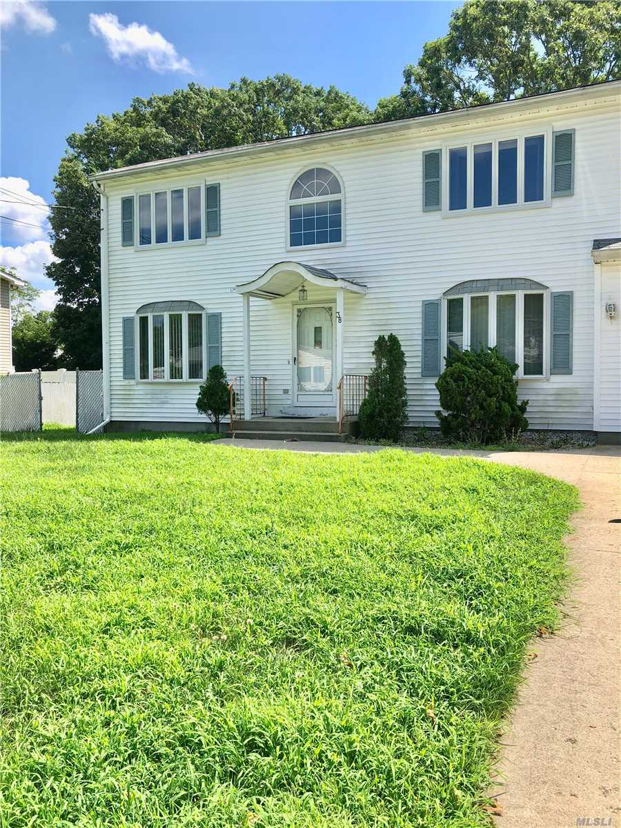 Welcome To This Beautiful Over Sized Colonial Perfect For Large Family. Ceramic Tile Thru-Out,  Huge Formal Dinning Room, Large Kitchen, And Living Room. Master Bed Room With Wic And Laundry Area. Tenant Pays All Utilities Also Must Take Care Of Lawn And Snow Removal. Small Dog Allowed Under 15 Pounds.