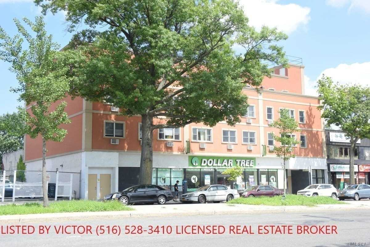 Renovated Spacious 2 Bedrooms -2 Bathrooms Apartment With Balcony, In A Well-Maintained Building. Open Kitchen, Hardwood Floors, Plenty Of Natural Sunlight. The Apartment Comes With 3 A/C Units. Electric Is Not Included