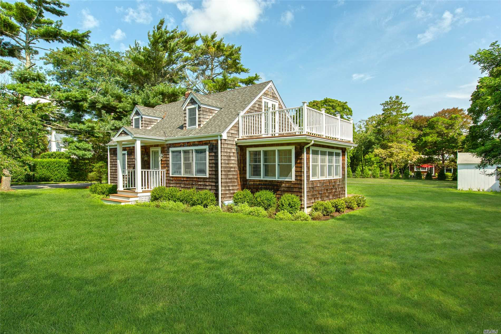 Located South Of The Highway In The Estate Section Of East Quogue With A Deeded Right Of Way To The Bay. This Home Was Fully Updated In 2012 With Three Bedrooms, Two Full Bathrooms, Kitchen, Living Room, Office And Sun-Room Which Can Be Used As A Dining Room, One Car Garage, Full Basement, And A Beautiful Yard With Room For A Pool On .40 Acre. East Quogue Is A Short Drive To Both Southampton And Westhampton Beach For A Day Of Shopping And Dining. New To The Market And A Must See!