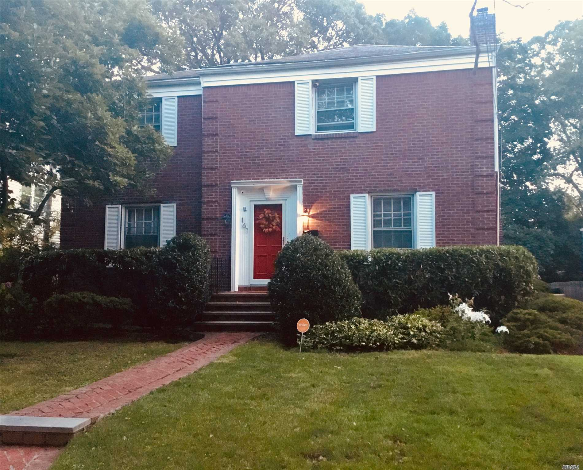 Beautiful Brick Center Hall Colonial On Quiet Tree Lined Street In Hewlett Sd#14.  Home Boasts Spacious Rooms, Wireless Security/Cameras, Newly Stained Hdwd Flrs, Updated Electrical Outlets, New Hi-Hats, New Ss Refrigerator, New Ss 5 Burner Stove, Repointed Chimney & Front Facade Of Home. 3 Large.Bedrooms (Incl Mastersuite/ Walk In Closet), 3 Full Baths, Formal Dr, Lg Entertaining Lr, Family Room, Office, Fin Basement, Pvt Driveway, 1 Car Garage, And More.. Move In Ready!!! Close To All!