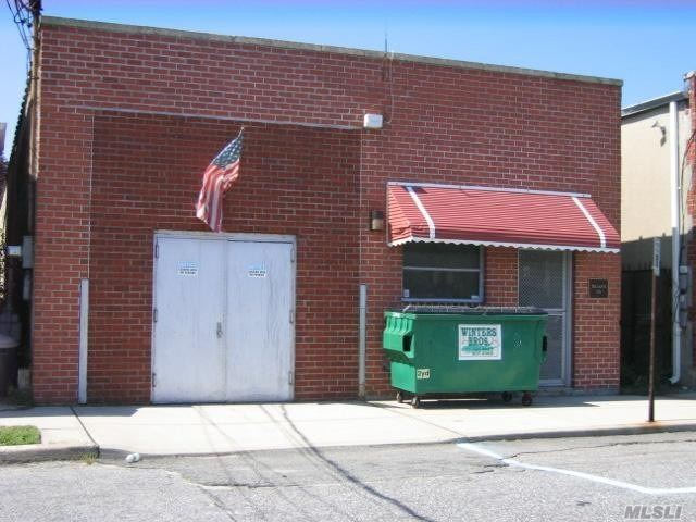 3, 000Sf One Story Light Industrial / Warehouse Building For Sale. Former Gold Jewelry Business Building With A Small Kiln In Rear. I Office On Ground Floor & 2 Small Partial Mezzanine Offices. Vault, 3 Bathrooms ( 1 Handicapped ), Warehouse Is Air-Conditioned, 2 Gas Zones, Drive-In Door ( Bricked For Security -- Can Be Re-Opened ) Alarm System, 14' Ceilings,  No Sprinkler, No Basement.