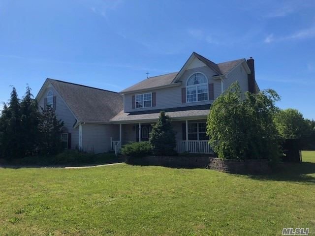 This Is Your Chance To Own A Large Colonial On An Acre Of Land With Separate Area For Extended Family! Eat In Kitchen W/Center Island, Large Cozy Den/Family Room, Large Formal Dining Room, Huge Master Suite W/Sitting Room. Great Yard Space For Entertaining With Room For A Pool. Come See For Yourself. Sold As Is.