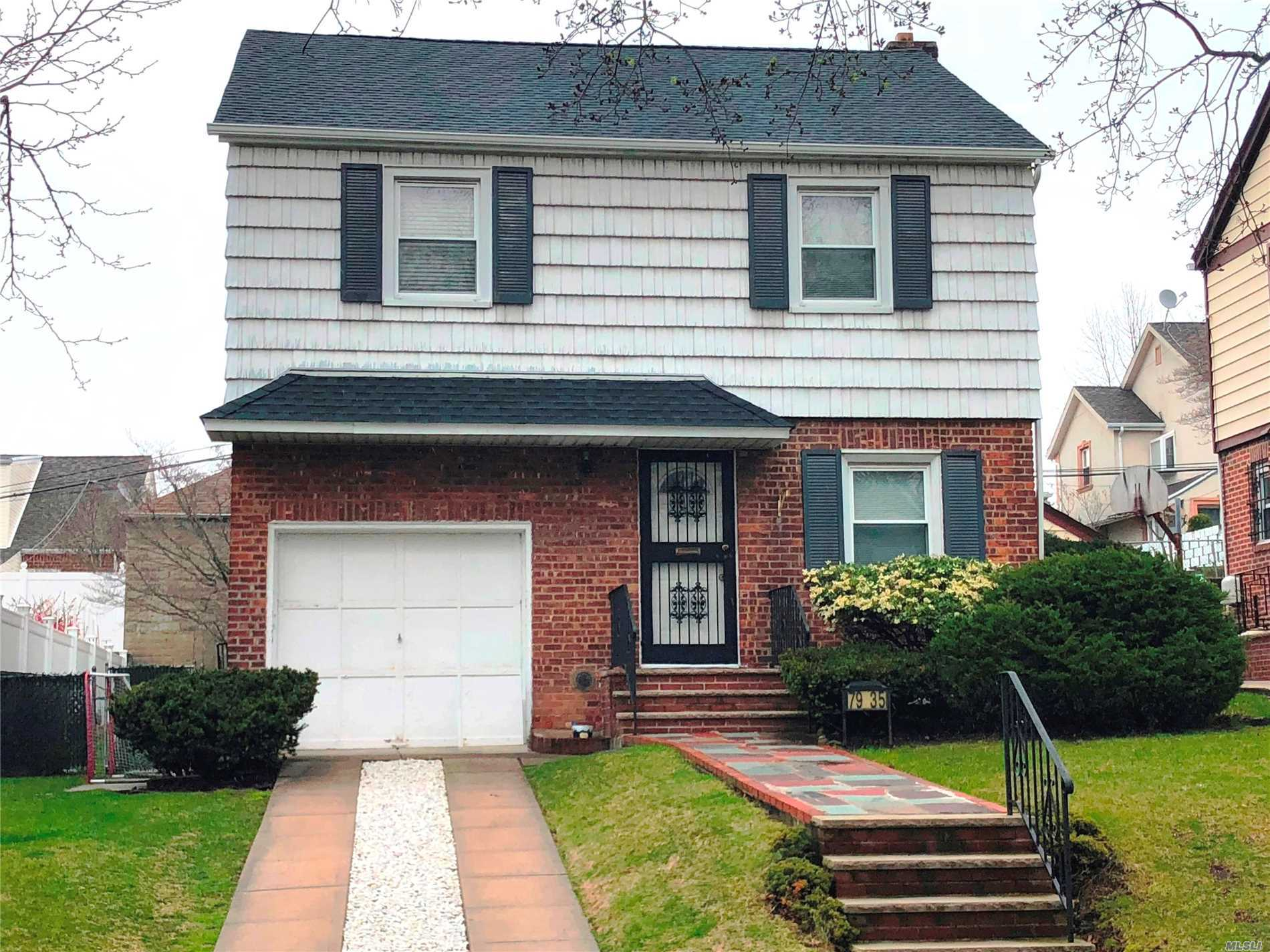 Whether You Move Right In, Or Bring A Few Decorating Ideas To This Brick And Frame Colonial, You Can Be Living In Style And Comfort In Hollis Hills In No Time! Set On A 45 X 100 Lot, This Charming Home Has Been Extremely Well Maintained, Featuring 3 Bedrooms, 1 Full Bath & 2 Half Baths, A Modern Kitchen, An Updated Bath, A Finished Basement And Much More!