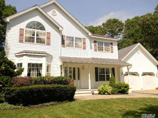 Stunning 4Br Col On Cul-De-Sac, 1/2 Acre +, Crown Moldings, 42 Cabinets In Eik,  Corian Counters, Full Basement, Office Or Br On 1st Fl, 2 Story Foyer, Barn Ceiling In Mbr W/ Sitting Room Or Br, Fp In Fr, Owner Will Address Back Yard, Fenced Yard, Taxes Are Being Grieved {Should Get A Reduction Between $1400 And $ 1700)