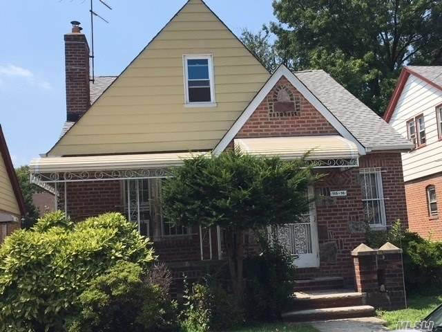 Large Cape Features 5 Bedrooms, Centrally Located To All, Full Basement. Needs Tlc. Perfect For Home Buyer To Customize Their Own. House Sold In As Is Condition.
