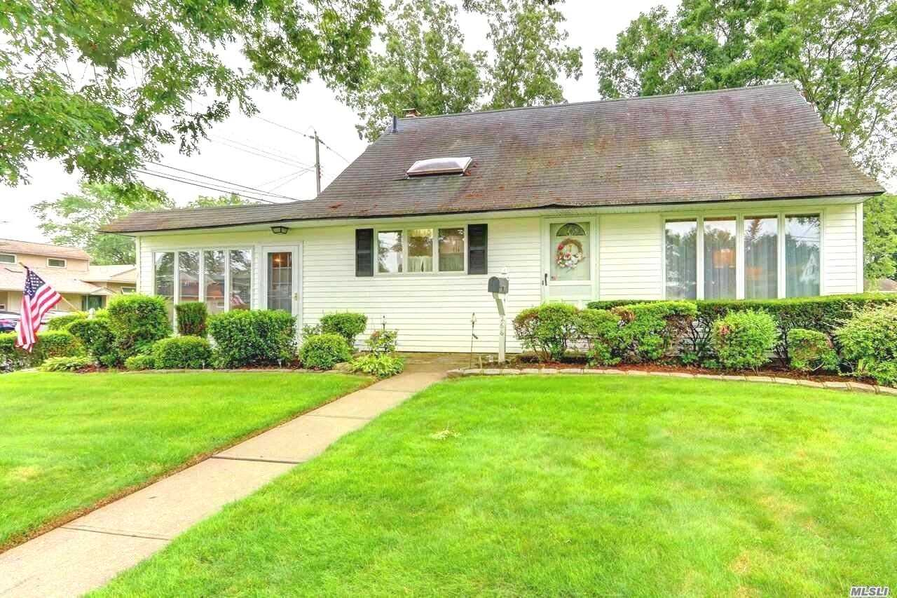 Unique Extended Cape In Heart Of Massapequa Park. Master Bedroom On First Floor With A Full Bath. Charming Step Down Family Room Off Of The Updated Kitchen With Access To Yard, Covered Patio And Detached Garage. New Main Bath. Large Formal Dining Room. Roof Is 1st Layer And Approx. 10 Years Old.