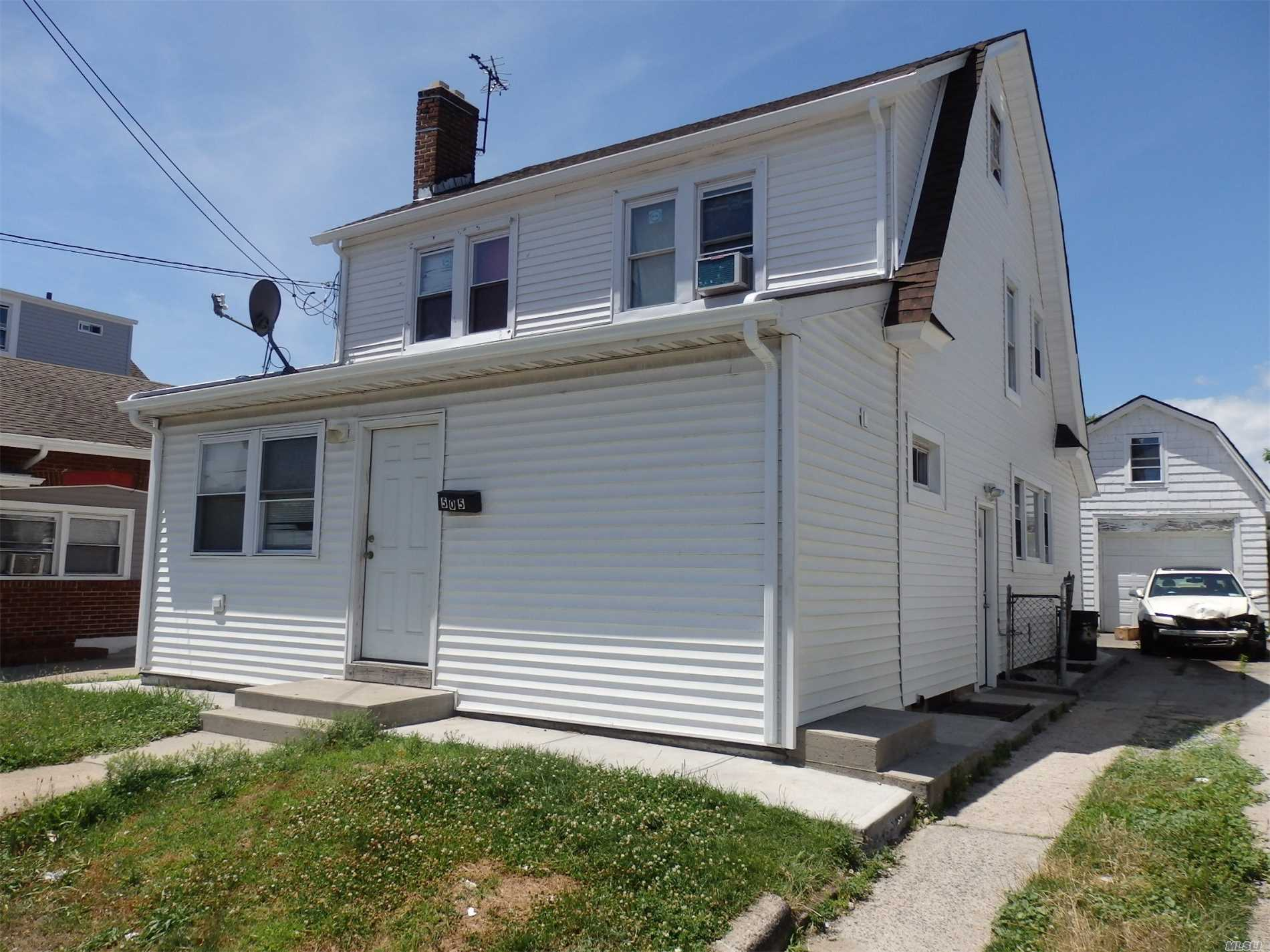 Investors And All Cash Buyers Only. Amazing Income Opportunity. Gross Rent Roll Over $33, 000. New Boiler, Hot Water Heater, Electrical, Siding And Roof. Being Sold Occupied With All Tenants In Place.Not An Reo, Not A Short Sale. Can Be Sold In Conjunction With 501 Fulton And 497 Fulton.