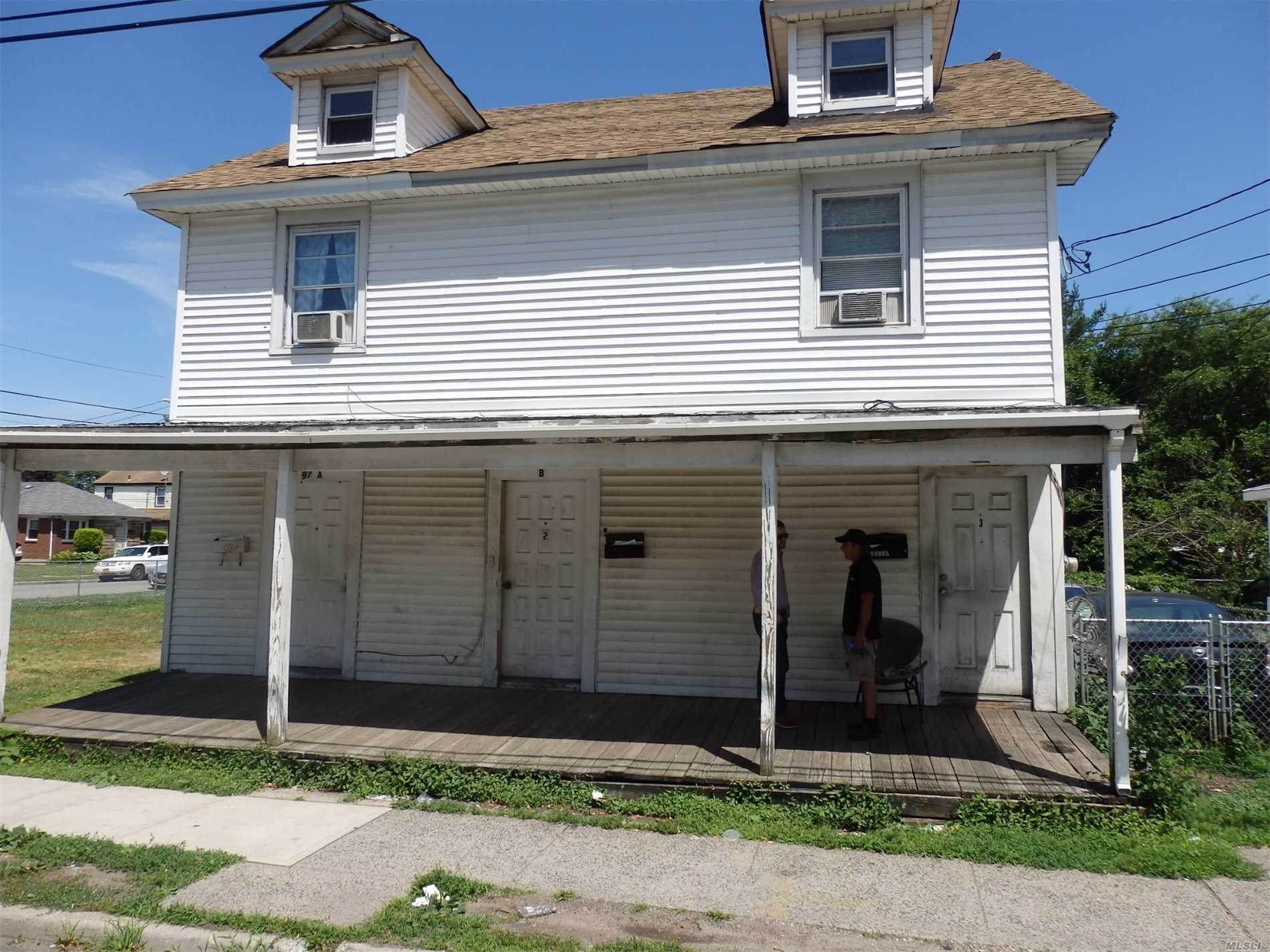 Investors And All Cash Buyers Only. Amazing Income Opportunity. Gross Rent Roll Over $60, 000. New Boiler, Hot Water Heater, Electrical, Siding And Roof. Being Sold Occupied With All Tenants In Place.Not An Reo, Not A Short Sale. Can Be Sold In Conjunction With 497 Fulton, 501 Fulton And 497 Fulton.