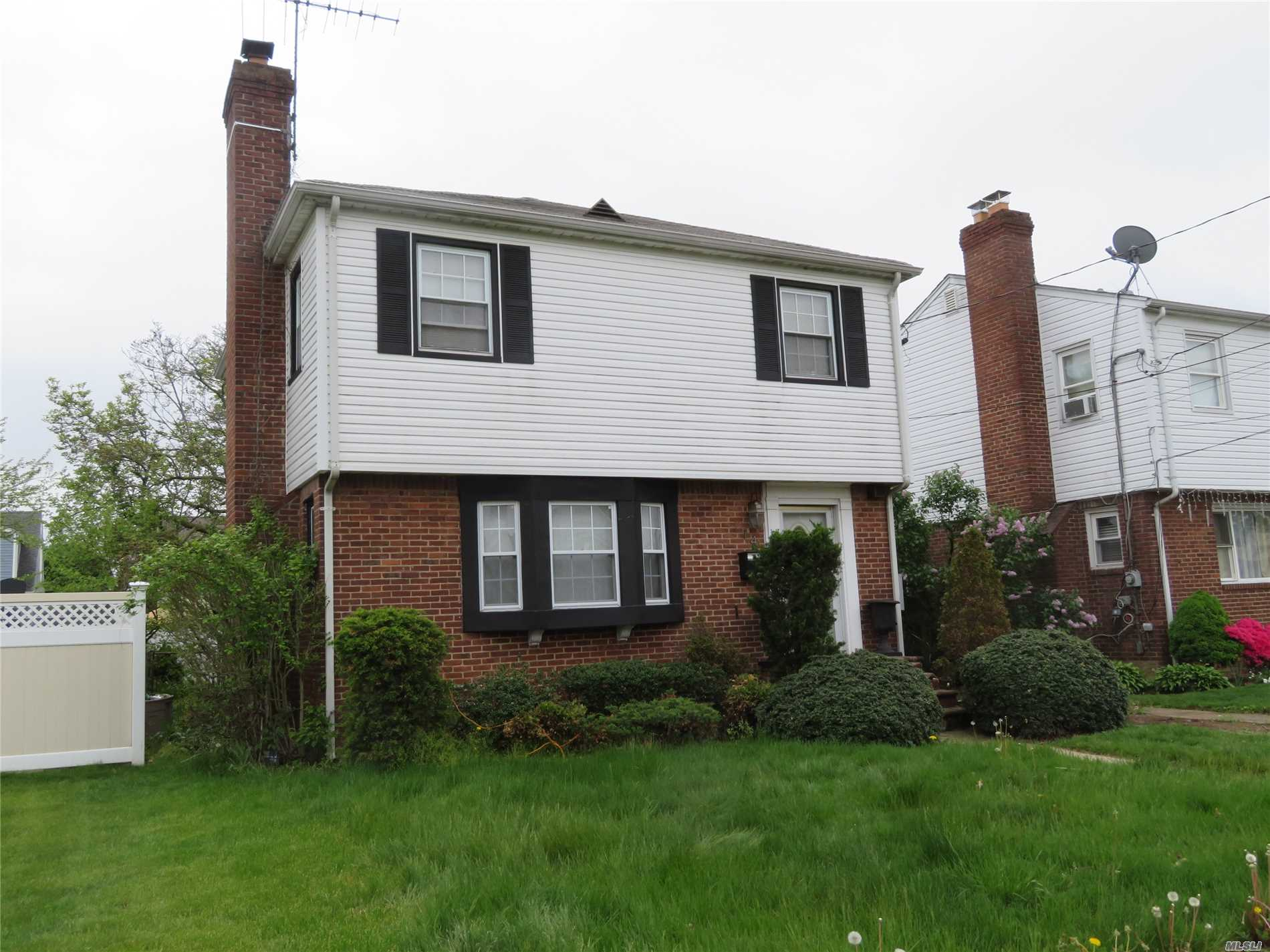 Colonial Style Home, Located Mid-Block- Offering 3 Bedrooms, Living Room W/ Fpl, Kitchen, Dining Room, Full Bath, Full Basement & Detached 1 Car Garage. Some Charming Interior Aspects With A Nice Layout- All 3 Bedrooms On 2nd Floor. Great Potential Is Offered Here Just Needs Your Tlc!