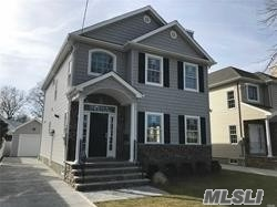 Beautiful Brand New Colonial. Grand Two Story Foyer. 9' Ceilings On 1st Fl. Hardwood Floors Throughout. Exceptional Craftsmanship And Details. Full Finished Basement. Rear Patio, Fully Landscaped With Underground Spklr. Fenced In Rear Yard. Home Approx 2, 750 Sq. Ft. Including Finished Basement. Walking Distance To New Hyde Park Train Station. Construction Completed And Ready For Immediate Occupancy.