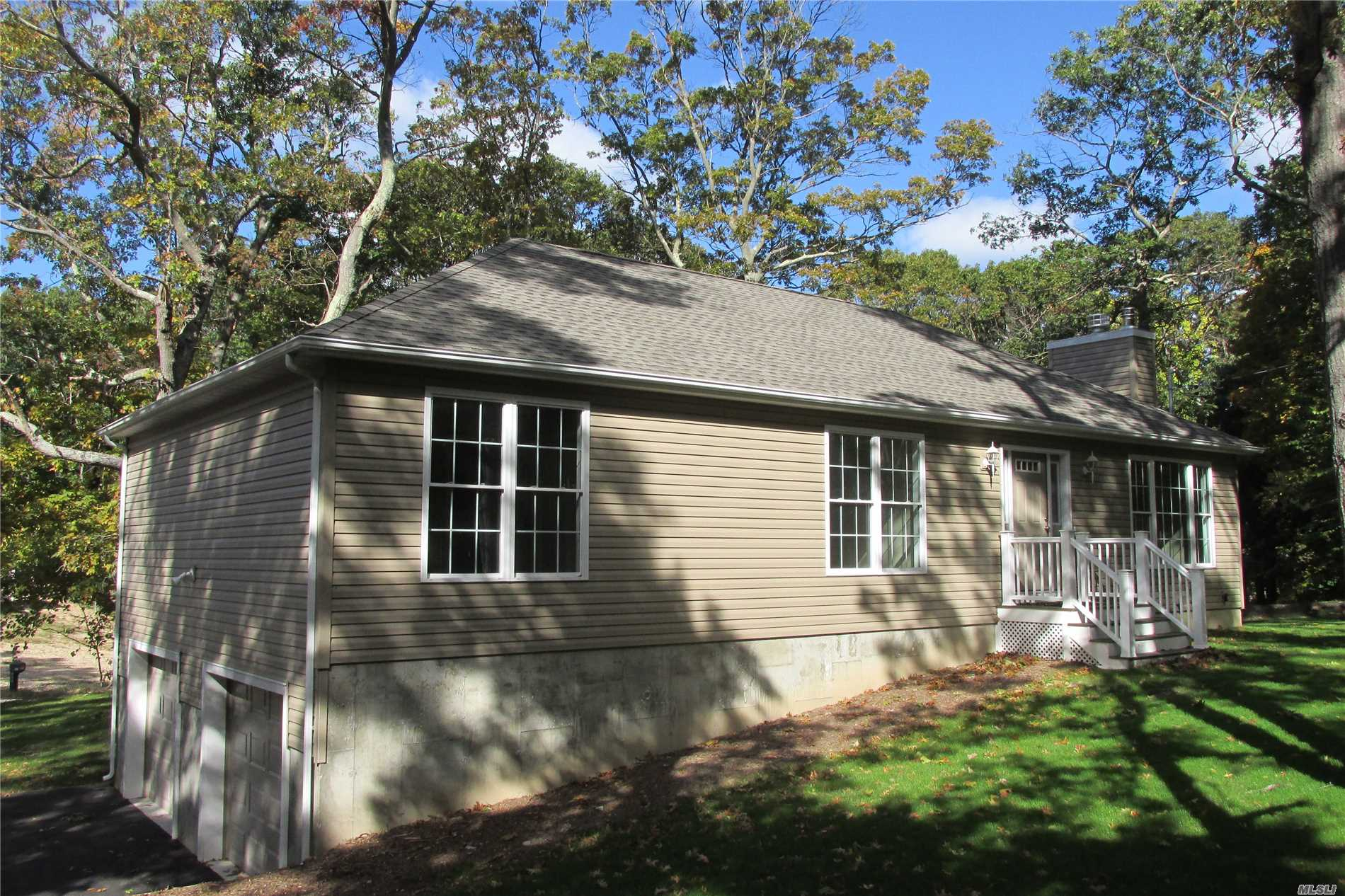 Rare New Construction, North Wading River, Shoreham Wading River Schools, Custom Energy Star Ranch, Oak Floors, Fireplace, Large Kitchen/Granite, Huge 2 Car Garage/9' Doors, Rear Deck, Ready In 30 Days For Occupancy ! Cac Available Peconic Tax Applies
