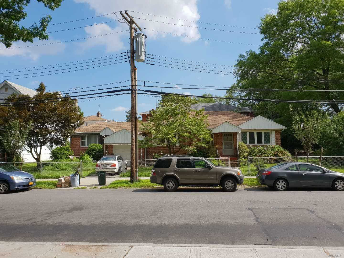 Desirable Area In North Cp,  Detached Ranch Corner House,  Facing Macneil Park,  Mother & Daughter Layout With Full Finished Basement,  On A Lot Of 4500 Sf, Zoning 3A, Lots Of Possibilities;