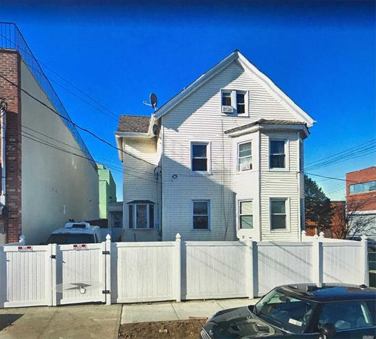 Good Income Producing Property...2 Family Detached With Full Finished Basement Separate Entrance And Finished Attic. Conveniently Located And Close To Q65 , Shopping And More